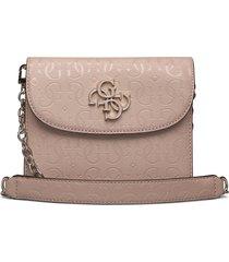 chic shine mini crossbody flap bags small shoulder bags - crossbody bags rosa guess