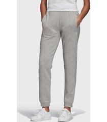 pantalón de buzo adidas originals track pant gris - calce regular