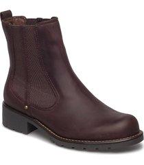 orinoco club stövletter chelsea boot röd clarks