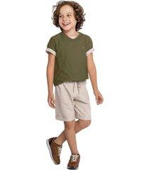 camiseta marisol - 10316442i verde - verde - menino - dafiti