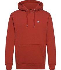 plain hoodie hoodie trui rood lee jeans