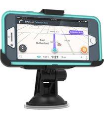 "car mount for iphone 7 plus & iphone 8 plus (5.5"") otterbox defender case (compa"