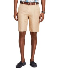 bermudas linen and cotton beige brooks brothers