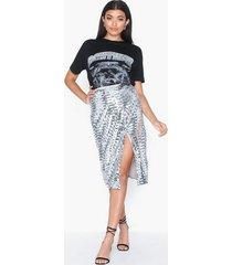 glamorous sequin skirt midikjolar