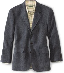 lightweight highland tweed sport coat - long
