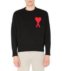 ami alexandre mattiussi crew neck sweater