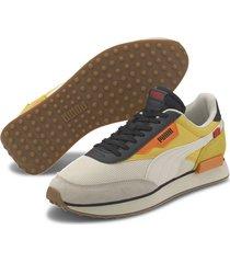 tenis beige puma future rider new tones  373386-02