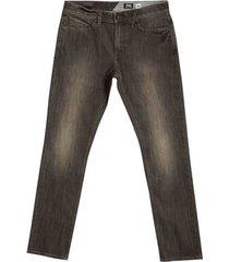 jeans volcom men's solver tapered pants