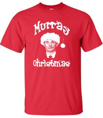 murray christmas bill merry xmas holiday retro men's tee shirt 530