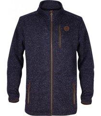 polar fleece sosftsweater duhko scrambled blue gnomo