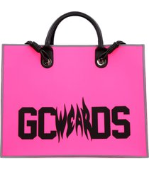 gcds logo detail tote bag