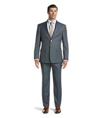 traveler collection slim fit sharkskin men's suit by jos. a. bank