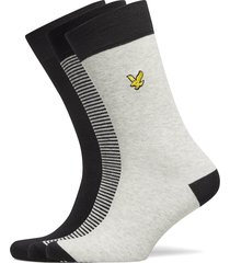 scotty underwear socks regular socks svart lyle & scott