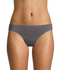 bonded edge stretch thongs