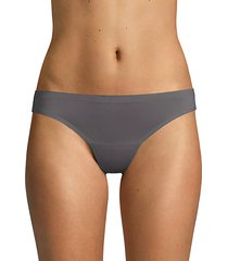 bonded edge stretch thongs