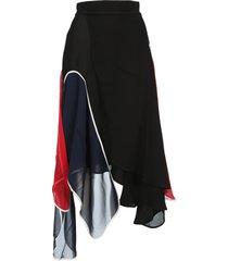 jw anderson asymmetric skirt