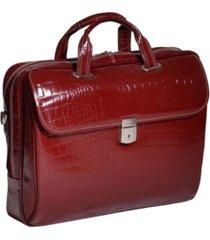 mcklein siamod settembre medium ladies laptop briefcase