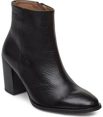 i-7902 shoes boots ankle boots ankle boots with heel svart wonders