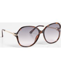 maurices womens oversized tortoise sunglasses brown