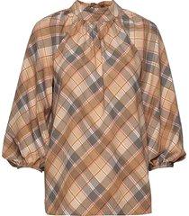 day tomorrow blouse lange mouwen bruin day birger et mikkelsen