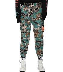 pantalon p luza camou trousers multicolor diesel