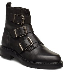 lexi shoes boots ankle boots ankle boot - flat svart pavement