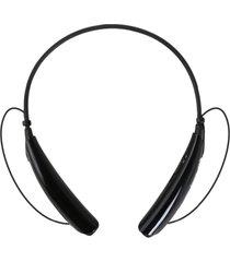 audífonos inalámbricos, universal auricular estéreo audifonos bluetooth manos libres  con micrófono auriculares inalámbricos estilo neckband para celular para sony iphone samsung (negro)