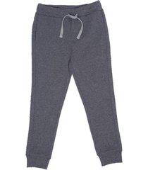 pantalon de buzo liso con bolsillos marengo  pillin