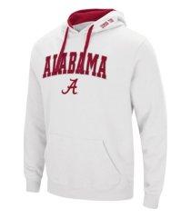 colosseum alabama crimson tide ncaa men's arch logo hoodie