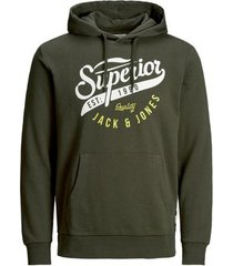 sweater jack jones logo hoodie
