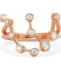 aquarius diamond constellation ring