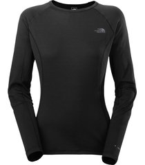 camiseta mujer warm l/s crew neck - the north face