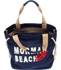kit com bolsa sacola utilitária + shopping bag - mormaii