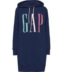 gap ls hd dress kort klänning blå gap