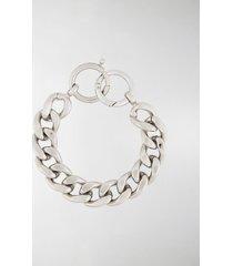 mm6 maison margiela chunky chain bracelet
