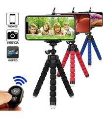 trípode para teléfono trípode monopod selfie stick remoto para