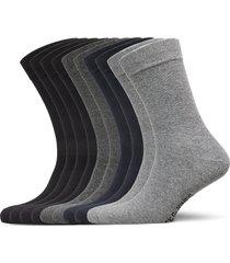 jacjens sock 10 pack noos underwear socks regular socks grå jack & j s