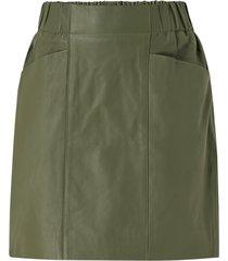 skinnkjol yasrobin hw leather skirt