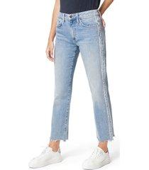 women's joe's the scout raw hem ankle straight leg jeans