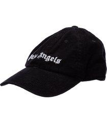 palm angels logo baseball cap