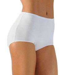 panty clásico algodón tiro alto blanco  ref.1143 soutien