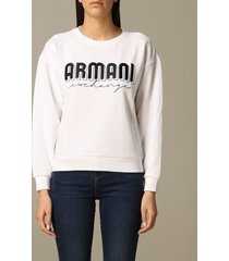 armani exchange sweater armani exchange crewneck sweatshirt with logo