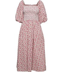 ebonyrs dress knälång klänning rosa résumé