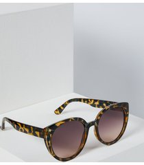 lane bryant women's animal print cateye sunglasses onesz animal ombre