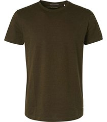 no excess t-shirt short sleeve crewneck mini moss