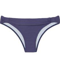 calcinha rosa chá carla canelado sideral azul feminina (sideral, gg)