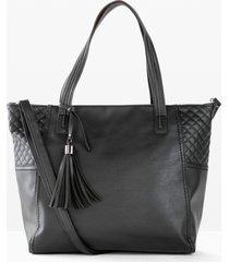 borsa shopper (nero) - bpc bonprix collection