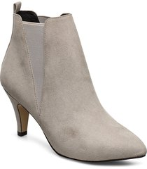 bianur v-split chelsea boot shoes boots ankle boots ankle boot - heel grå bianco