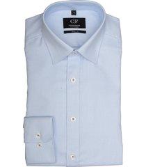 commander overhemd blauw slim fit 213010082/602