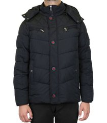 galaxy by harvic men's heavyweight puffer jacket